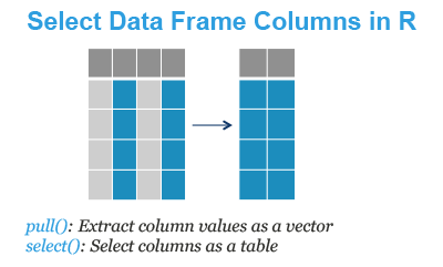 Select Columns of a Data Frame in R